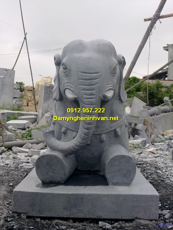 Ý nghĩa phong thủy tượng voi đá
