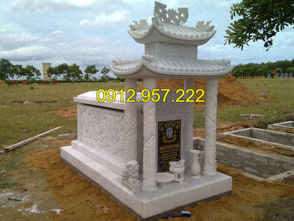 Địa chỉ lắp đặt khu lăng mộ đá trắng uy tín tại Ninh Vân