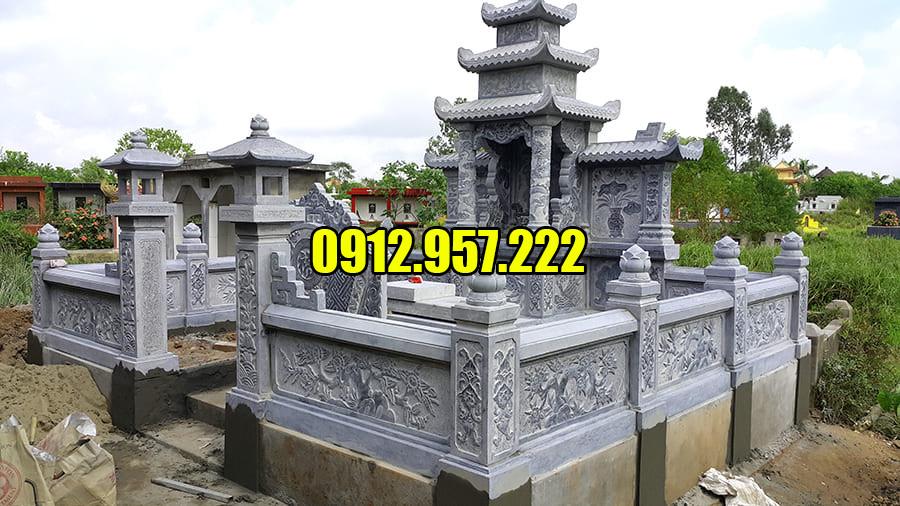 Địa chỉ lắp đặt khu lăng mộ đá uy tín tại Ninh Vân Ninh Bình