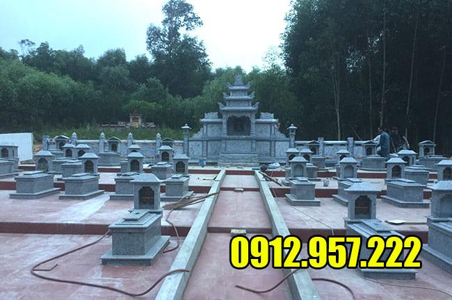 Cập nhật mới nhất giá khu lăng mộ đá Ninh Vân - Ninh Bình