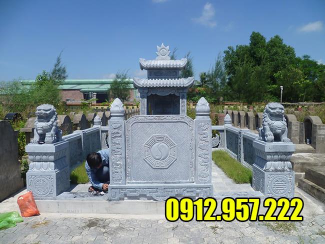 Giá lăng mộ đá đẹp Ninh Bình