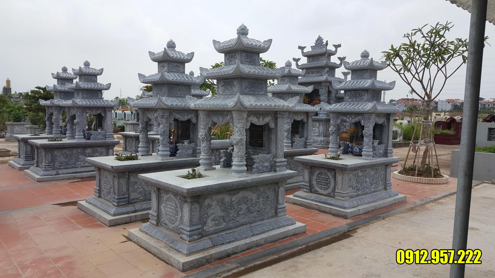 Giá lăng mộ đá đẹp Ninh Vân