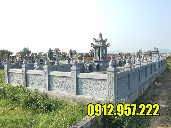 Mẫu lăng mộ đá đẹp nhất Ninh Vân - Ninh Bình