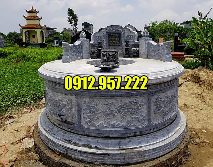 Mộ đá tròn tại Ninh Vân