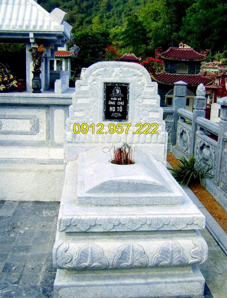 Những mẫu mộ đá trắng đẹp nhất
