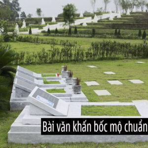 Văn khấn tạ mộ và cách sắm lễ tạ mộ mới xây, cuối năm, tiết thanh minh