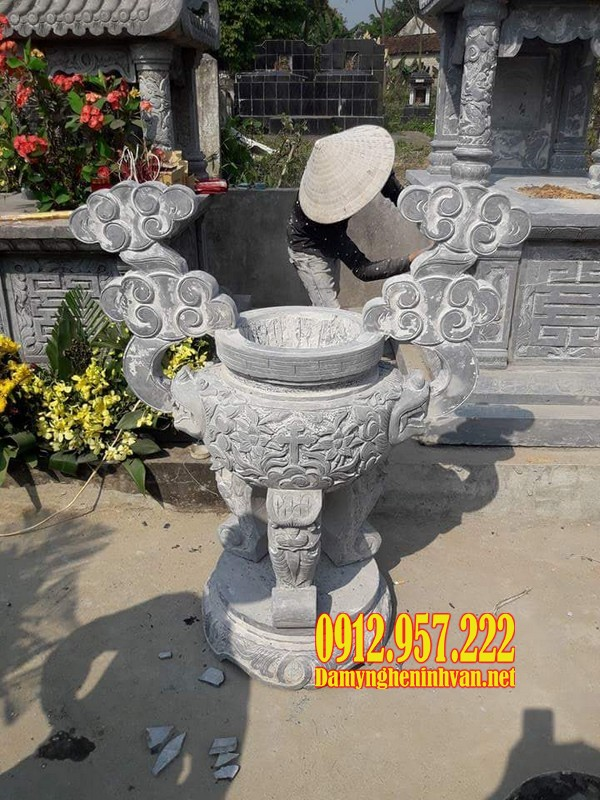 Lư hương đá TP HCM – Báo giá lư hương bằng đá TPHCM năm 2020