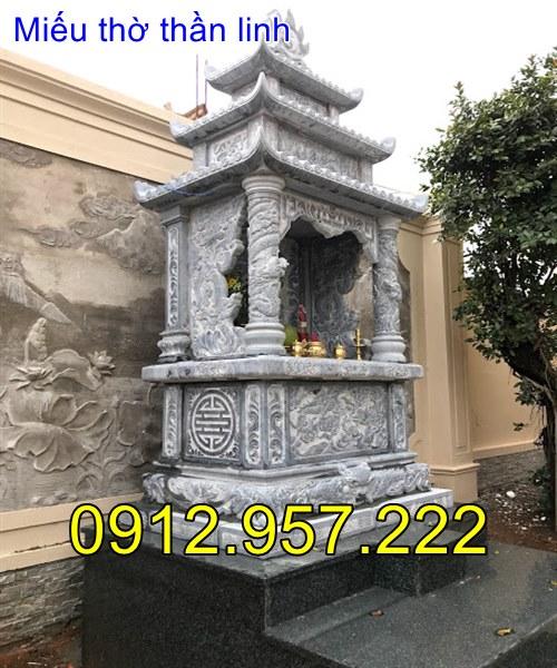 lắp đặt miếu thờ thần linh tại nhà riêng khu biệt thư nhà riêng tại Đà Lạt- Lâm Đồng -02