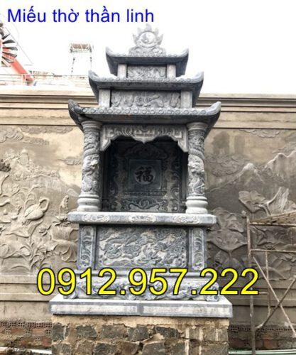 lắp đặt miếu thờ thần linh tại nhà riêng khu biệt thư nhà riêng tại Đà Lạt- Lâm Đồng