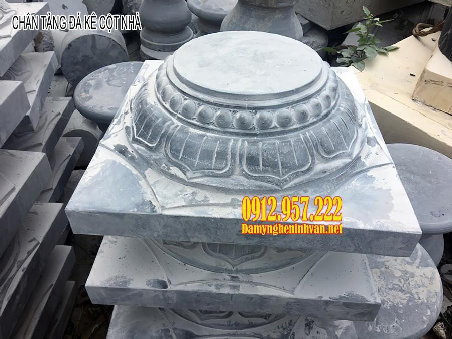 Chân tảng đá kê cột nhà đẹp - Giá chân tảng đá kê cột nhà gỗ đẹp