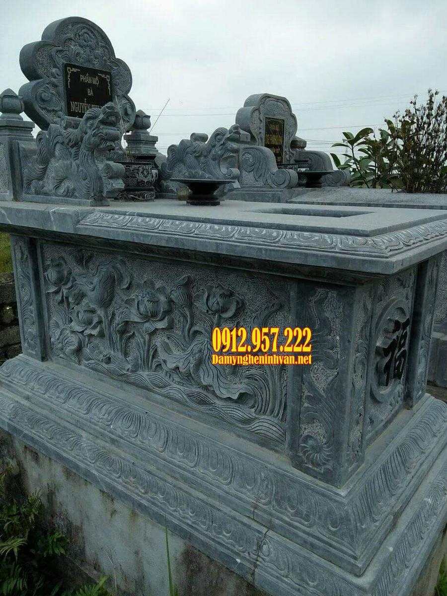 Mẫu mộ tam sơn đá tự nhiên giá rẻ