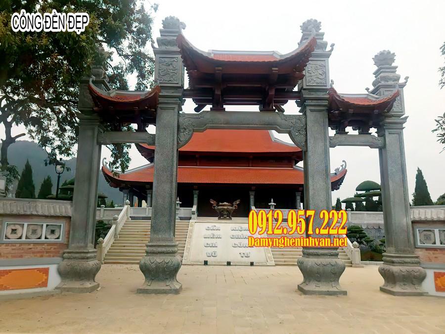 cổng đền, mẫu cổng đền chùa đẹp, mẫu cổng đền đẹp, cổng đền bằng đá, cổng đền chùa, cổng đền đẹp
