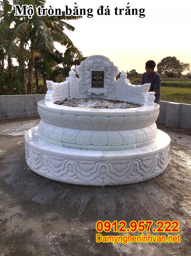 Những mẫu mộ tròn đá đẹp nhất Việt Nam