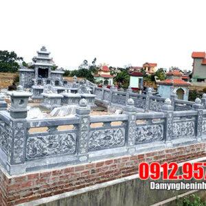 Tổng hợp các mẫu mộ đá đẹp Ninh Vân Ninh Bình