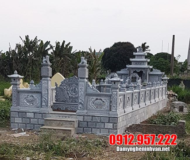 Khu lăng mộ đá ninh vân ninh bình đẹp