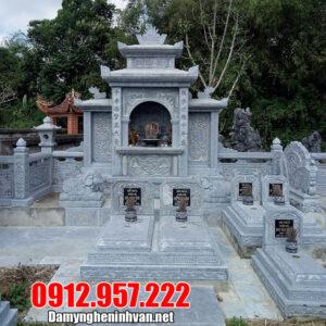 10 Mẫu lăng mộ bằng đá mỹ nghệ Ninh Vân Ninh Bình đẹp nhất