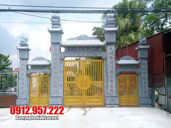 Ý nghĩa cổng nhà thờ tổ đẹp bằng đá