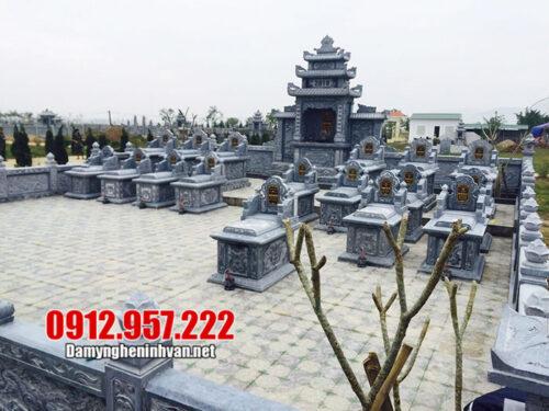 Mẫu lăng mộ đá gia tộc - Mẫu lăng mộ gia tộc bằng đá đẹp nhất 2020