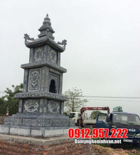 Mộ tháp đá - 6 mẫu mộ tháp phật giáo bằng đá đẹp nhất