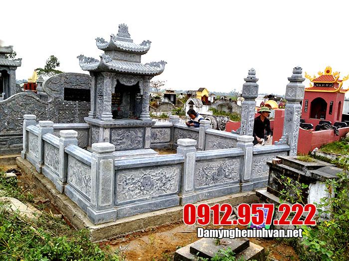 khu lăng mộ bằng đá đẹp ninh vân ninh bình