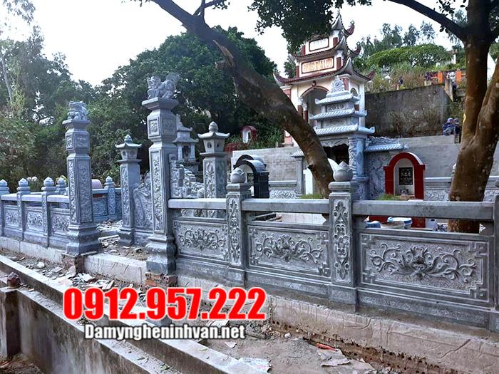 khu lăng mộ bằng đá xanh ninh vân