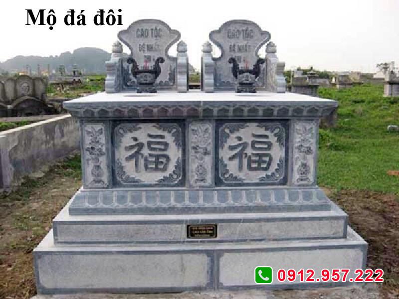 Mẫu mộ đôi đá đẹp nhất 2020 giá cực rẻ