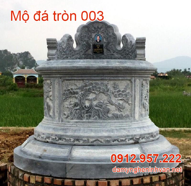 Xây mộ tròn hay mộ vuông thì hợp lý ? Một số mẫu mộ tròn đẹp nhất 2020