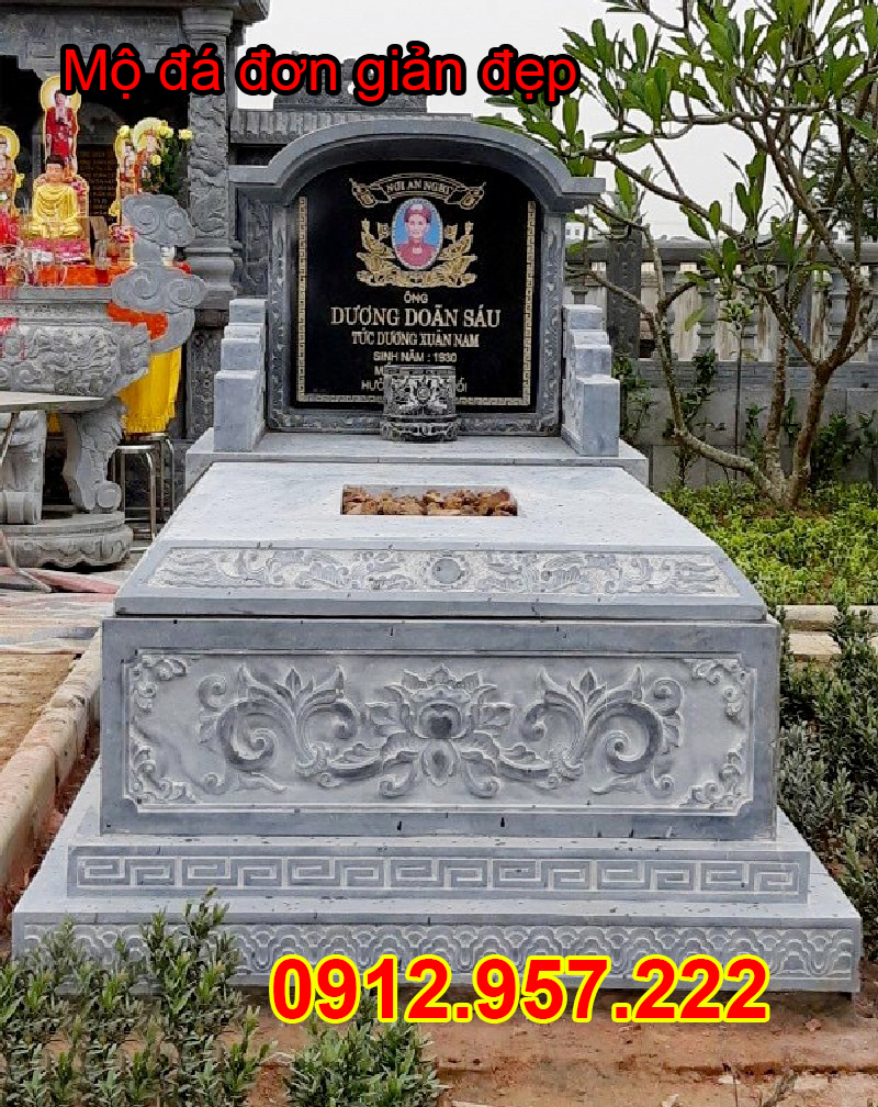 Mẫu mộ đơn giản đẹp – Giá một ngôi mộ đơn giản tầm bao nhiêu ?