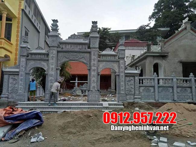 Cơ sở thiết kế cổng nhà thờ họ đẹp – Làm cổng nhà thờ họ bằng đá đẹp
