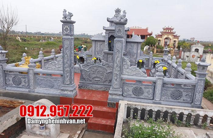 Kiến trúc khu lăng mộ Quảng Ninh đẹp