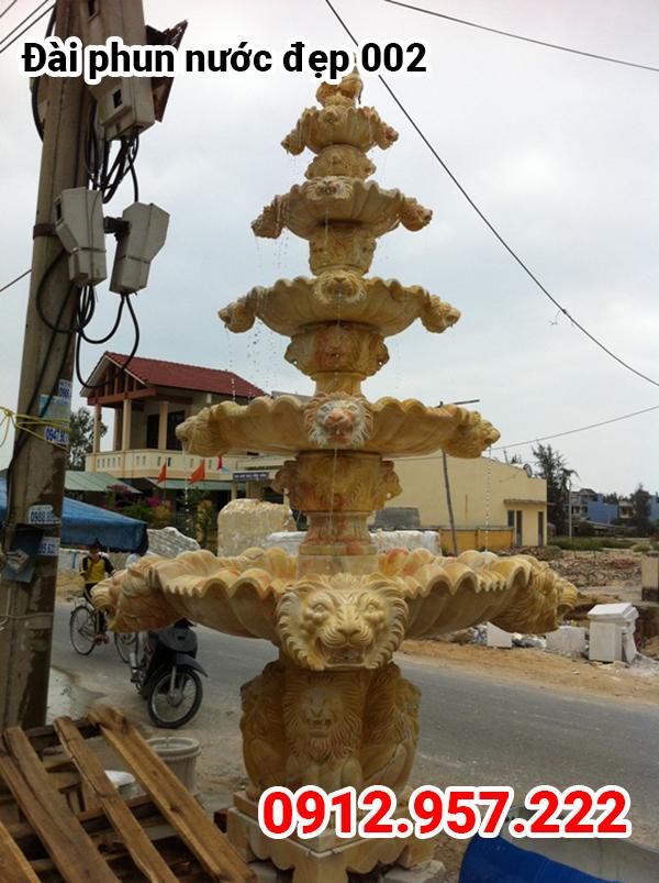Đài phun nước bằng đá đẹp năm 2021