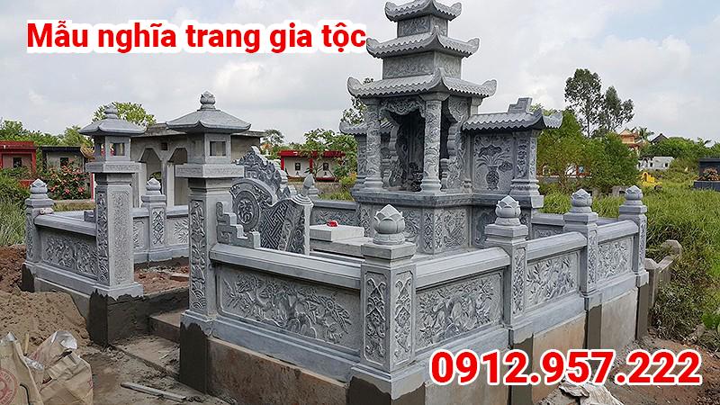 Mẫu nghĩa trang gia tộc đẹp 001