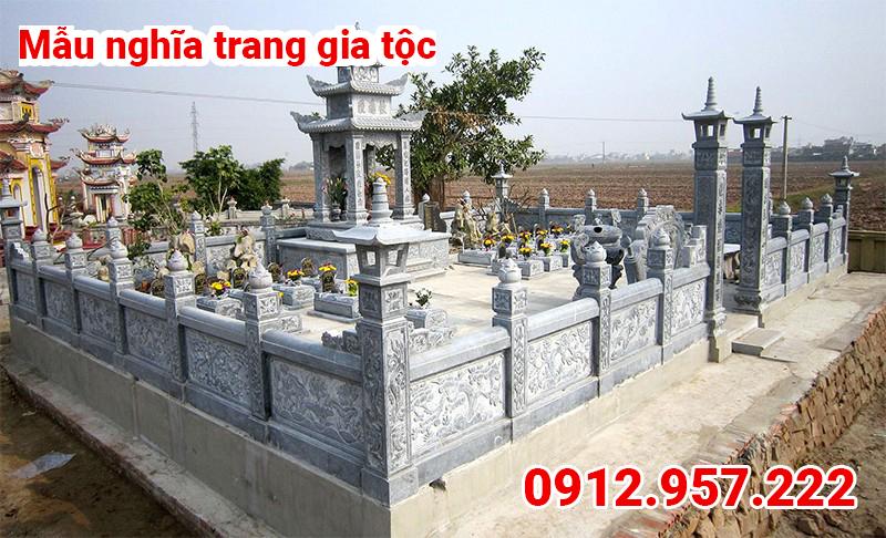 Mẫu nghĩa trang gia tộc đẹp 002