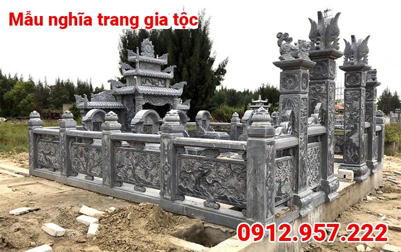 Mẫu nghĩa trang dòng họ đẹp 004