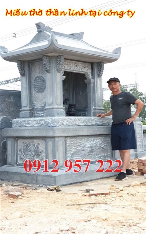 Miếu thờ thần linh bằng đá cho công ty tại đồng nai, miếu thờ sơn thần đẹp