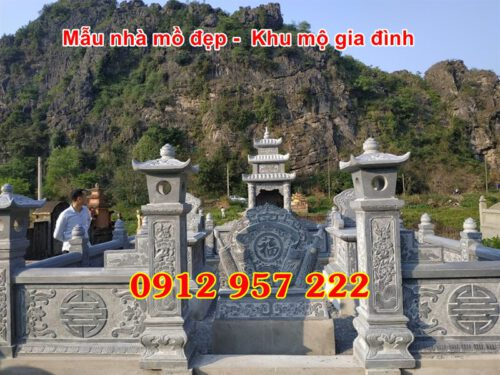 Xây khu mộ gia đình đẹp tại đà nẵng
