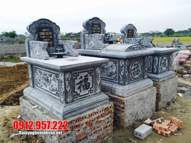 Mẫu mộ đá xanh thanh hóa đẹp nhất 2020 – Mẫu mộ đá xanh đẹp