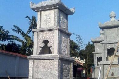 Hình ảnh mộ hình tháp phật giáo bằng đá tại Quảng Bình đẹp nhất 2020