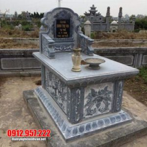 Mẫu mộ tổ bằng đá xanh đẹp - Mộ tổ bằng đá xanh tự nhiên giá rẻ