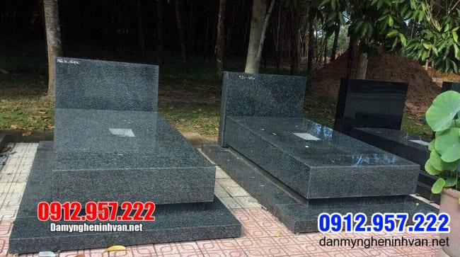 10 Mẫu mộ đẹp thiết kế đơn giản làm bằng đá tự nhiên