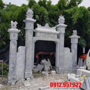 Giá bán tượng nghê đá phong thuỷ đặt cổng đẹp nhất 2019