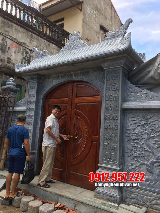 Các mẫu cổng nhà thờ họ bằng đá đẹp nhất hiện nay