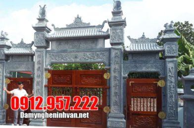 Top 10+ mẫu cổng nhà thờ họ đẹp nhất hiện nay tại Ninh Vân