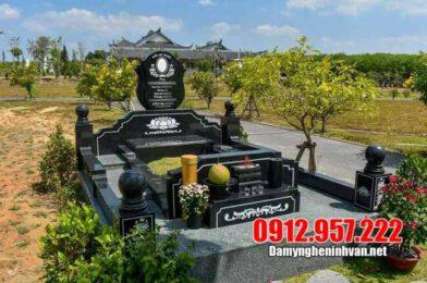 Cập nhật giá lăng mộ đá hoa cương Ninh Vân năm 2020