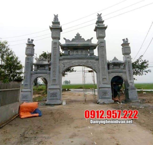 Loại kiến trúc cổng làng dạng tam quan