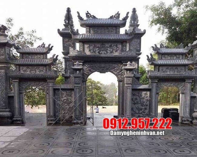 Sơ lược về mẫu cổng làng đẹp nhất tại Ninh Vân