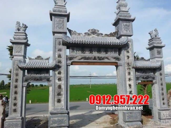 Tổng hợp những mẫu cổng làng đẹp nhất Ninh Vân