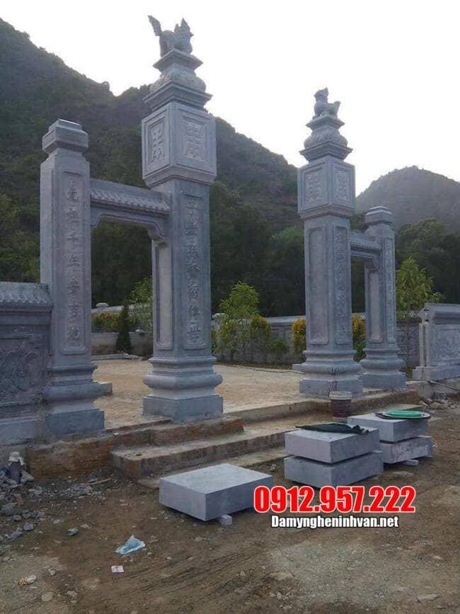 Ưu điểm của cổng làng bằng đá