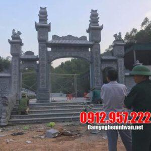 Khu lăng mộ dòng họ đẹp - Mẫu khu lăng mộ dòng họ bằng đá đẹp giá rẻ