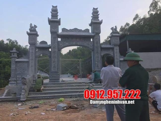 Ý nghĩa tâm linh của cổng làng bằng đá